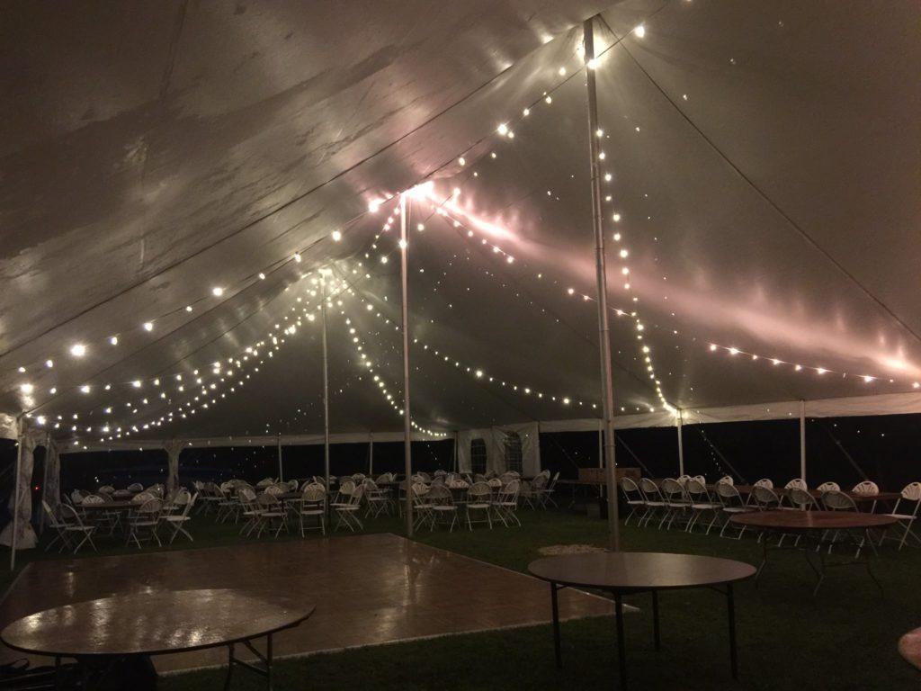 Upstate Party Rental tent rental auburn ny
