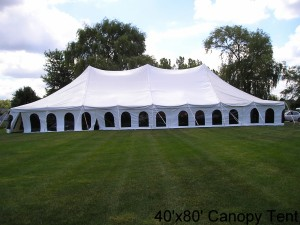 Canopy Tent- 40'x80'