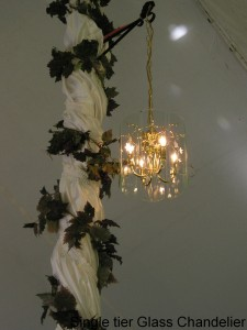 Single Tier Chandellier