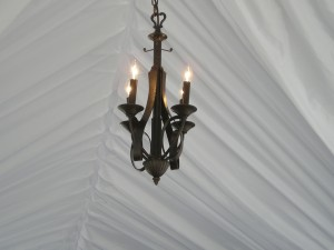 Small Cast Iron Chandellier